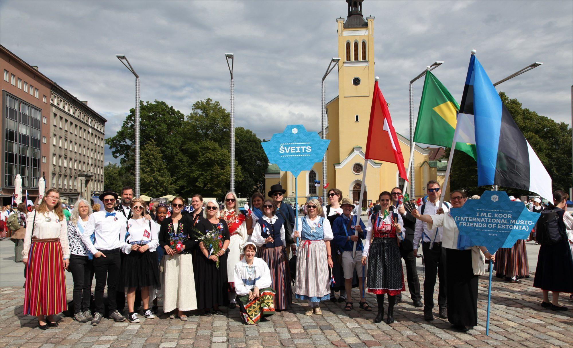 I.M.E. koor - Eesti koor Šveitsis